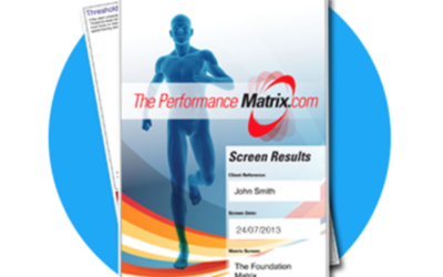 The Performance Matrix – How is your body coping?
