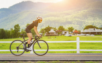 Is you back causing you issues when you are out cycling?